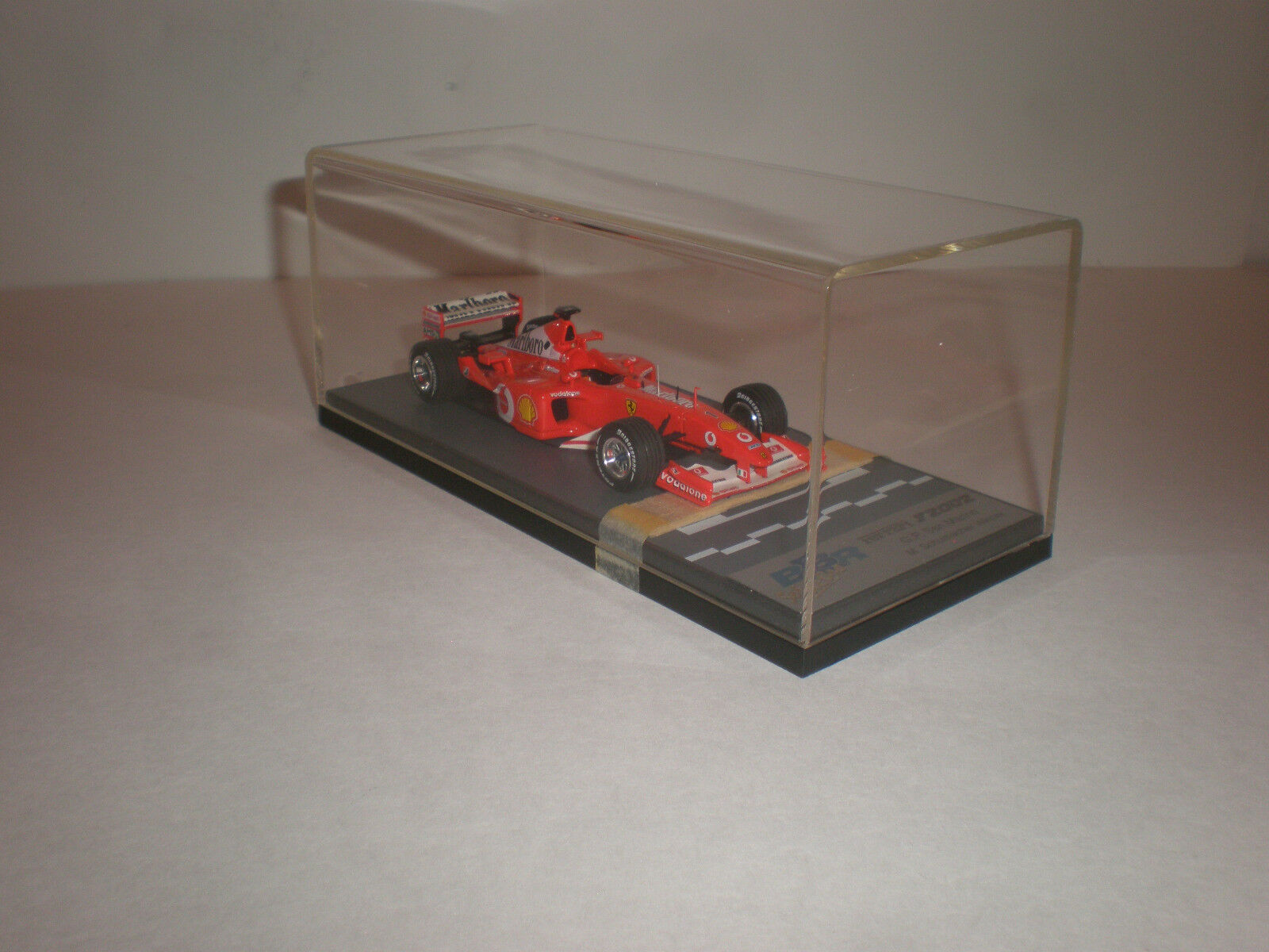 BBR Ferrari F1-2002 Grand Prix San Marino 2002 ganador M. Schumacher BG233