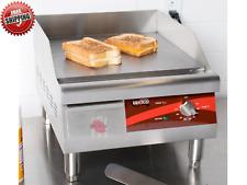 Restaurant Commercial Avantco Eg16n 16 Electric Countertop Griddle 120v