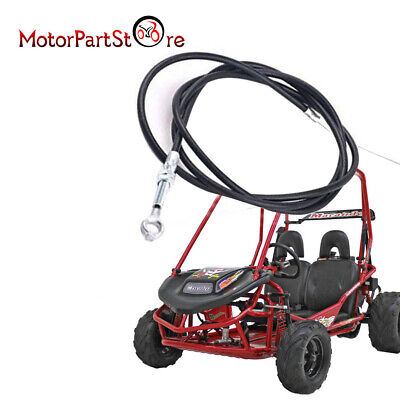 """Go Kart 71/"""" Enhanced long Throttle Cable 63/"""" Casing 8252 For Manco ASW Cart A5N7"""