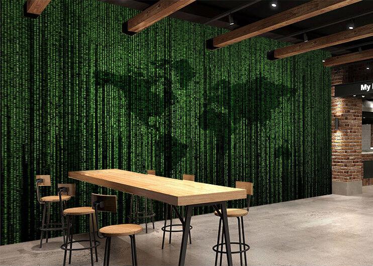 3D Green Map 402 Wallpaper Murals Wall Print Wallpaper Mural AJ WALL AU Kyra