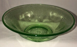 Federal-GEORGIAN-LOVEBIRDS-GREEN-5-3-4-034-CEREAL-BOWL