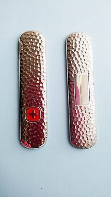 Replacement Scales Stainless Steel Swiss Army Pocket Knife