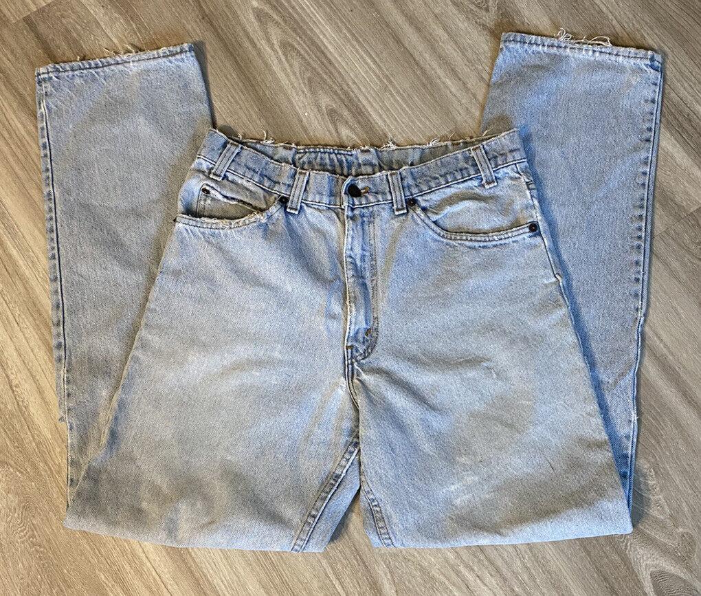Vintage 90s Levis 540 32 X 32 Distressed Worn Jea… - image 2