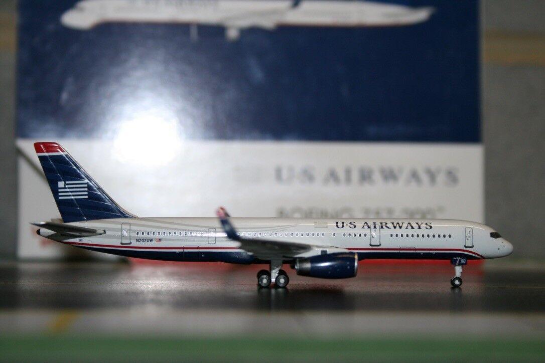 Gemini - jets 1 400 us airways boeing 757-200 n202uw (gjusa1386) druckguss - modell