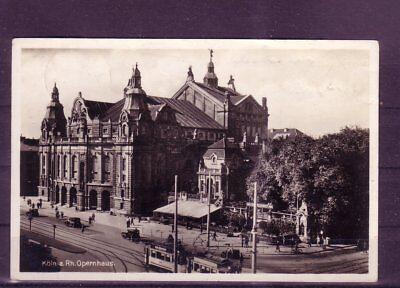 opernhaus- europa:11381 Einfach Zu Verwenden Gelaufene Ansichtskarte Köln