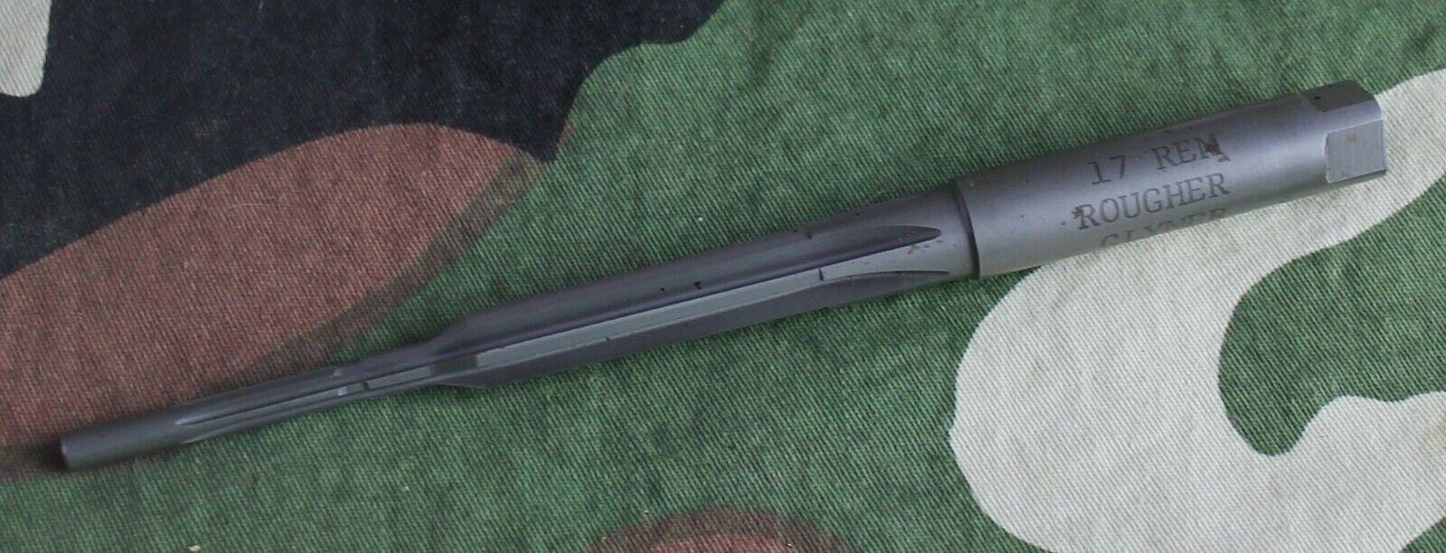 Cámara Escariador Clymer USA .17 Remington más ásperas Armero utilizado una vez