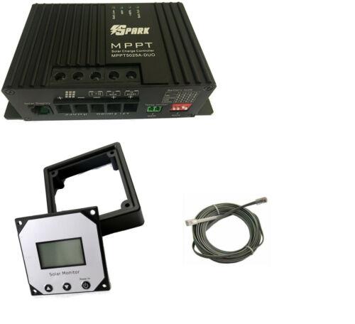 150W 12V Solar Panel kit 20A MPPT Controller battery charger motorhome caravan