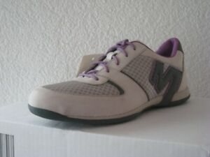 Merrell-Veloce-Turin-J75088-Leather-Trainers-Lace-Up-Ladies-Grey-Beige-37-5-New