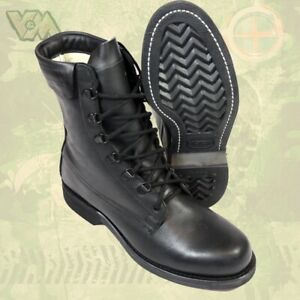 Original Usa Combat Bottes Bottes Chaussures En Cuir Vibram Outdoor Migration Security-afficher Le Titre D'origine