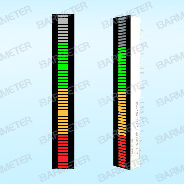 51segments 75mm LED Bargraph Display Tri-color (Red&Green&Yellow)