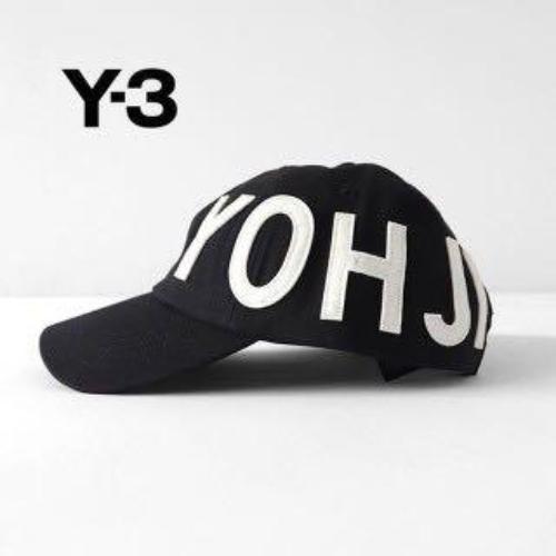 mimar Introducir Cinco  Y-3 Yohji Yamamoto adidas Velcro Adjustable Sporty Cap Black Logo FH9271  for sale online | eBay