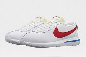 44f5e8bd5f4e Nike Roshe Cortez NM SP Forrest Gump Nikelab White Red Game Royal ...