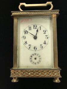 Carriage Clock Antique French Ebay