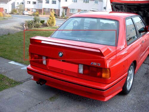 BMW 3 SERIES M3 E30 REAR BOOT SPOILER NEW