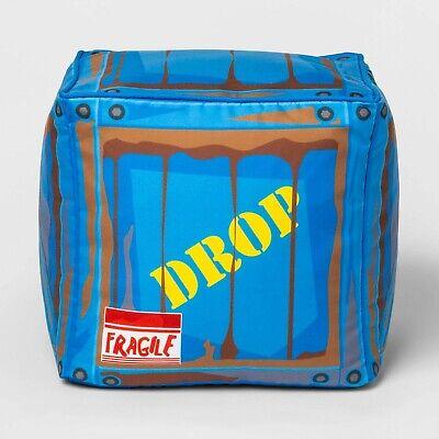Fortnite Stuffed Plush Dropbox Drop Box Stuffed Plush Pillow Block Toy Large NEW