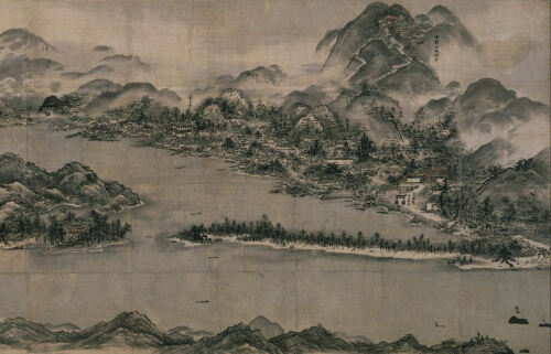 Picture Poster Chinese Japanese Art Traditional Asian Artwork Framed Print