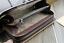 Men-Leather-Long-Clutch-Business-High-Capacity-Purse-Double-Zipper-Casual-Wallet thumbnail 7