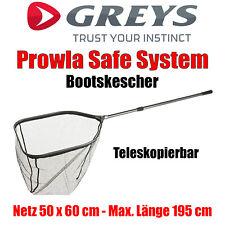 1x Greys Prowla Hardmono 20m 27kg 60lb mit 30 Crimps Safe System Mono Crimps