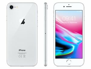 apple iphone 8 256gb silber ohne sim lock wow ebay. Black Bedroom Furniture Sets. Home Design Ideas