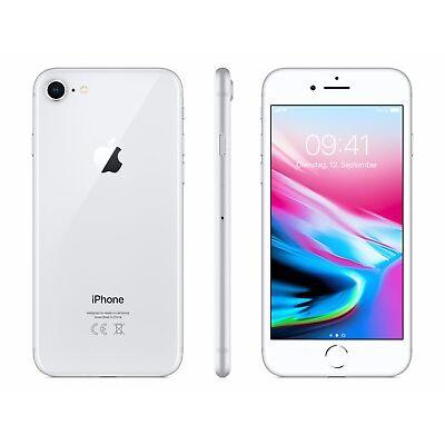 Apple iPhone 8 - 64GB - Silber / Silver - (Ohne SIM-Lock) - NEU - Händler