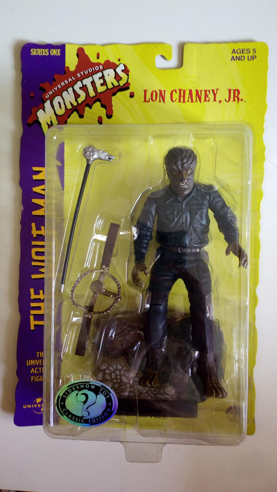 The Wolfman personaje de Sideshow Juguete  neu & OVP   serie One