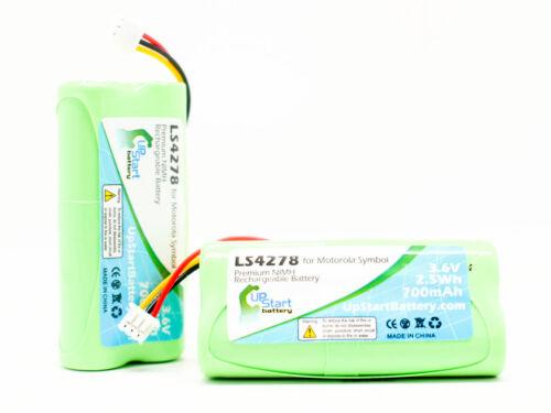 2x Motorola Symbol LS4278 Battery Replacement 3.6V 700mAh