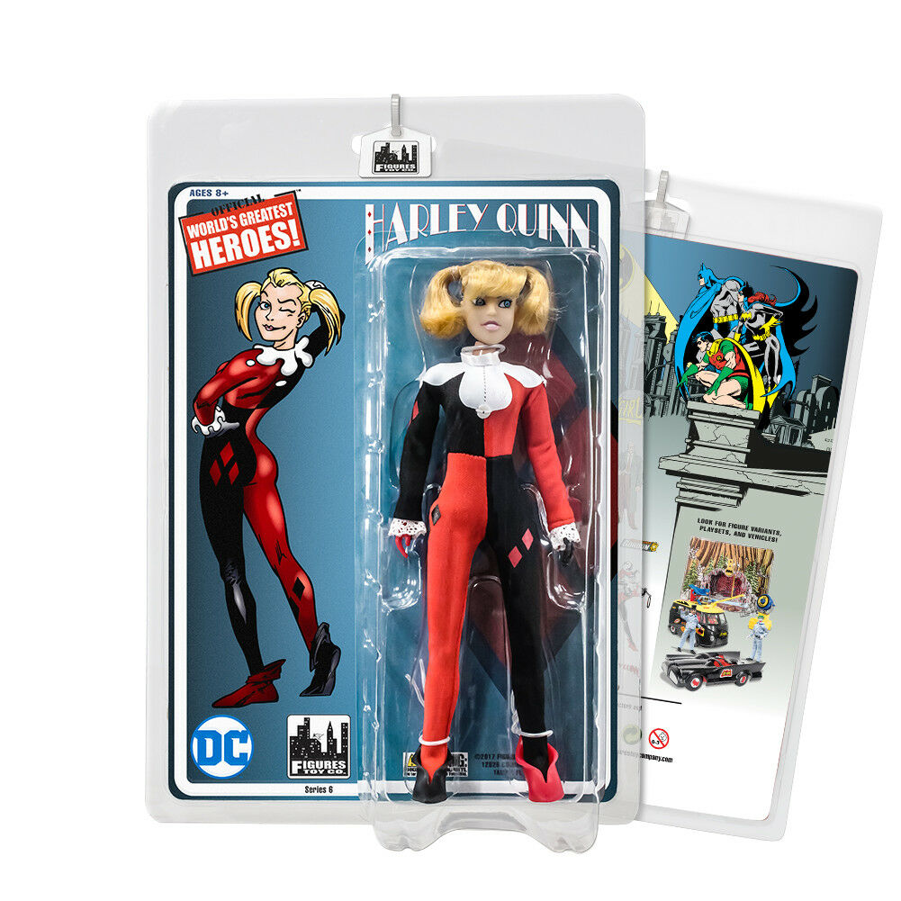 Batman Retro Action Figures Series  Harley Quinn [Unmasked Variant]