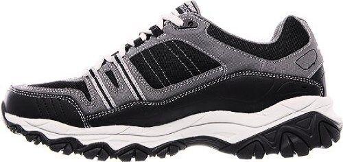 Memory Foam Afterburn Uomini Di Sport Di Skechers Ampia Pizzo Sneaker 3Y5NXYa