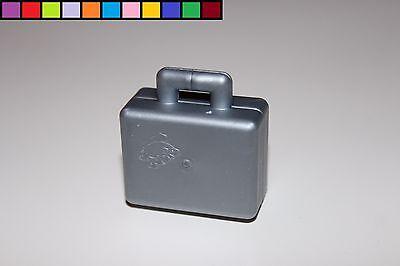 Koffer silber Lego Duplo Eisenbahn