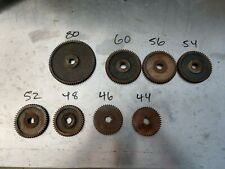 South Bend 9 Inch Lathe Model C Quick Change Gears Lot Of 8