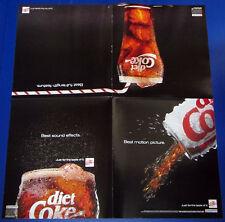 DIET COKE / OSCAR poster__Original 1991 Print  AD / promo supplement__Coca-cola