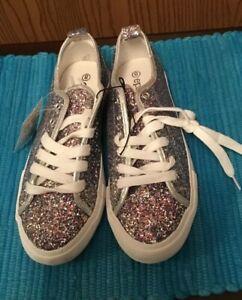 Womans Epicstep Glitter Sneakers Sz8