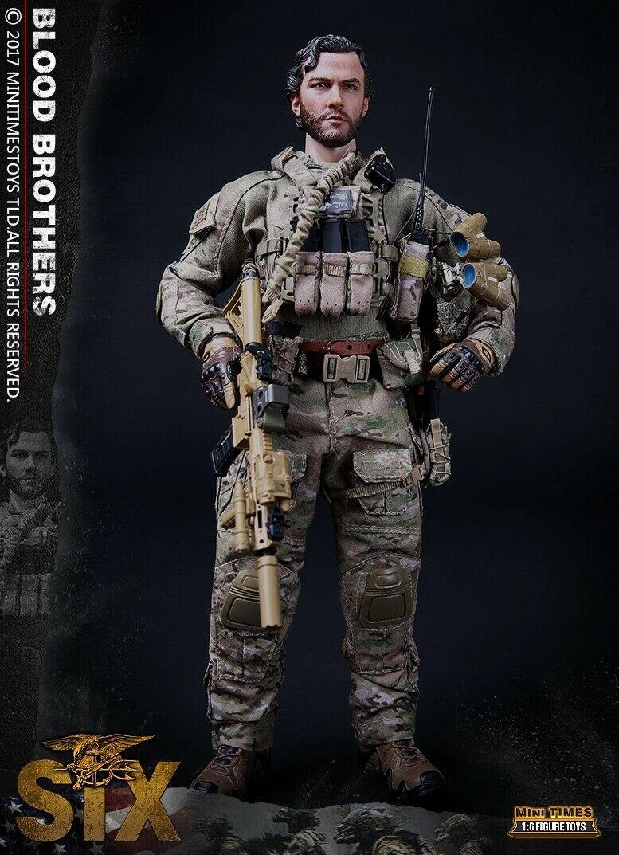 Mini 1 6 veces Juguetes MT-M010 Us Navy Seal Team Six Solider Acción Figura Modelo
