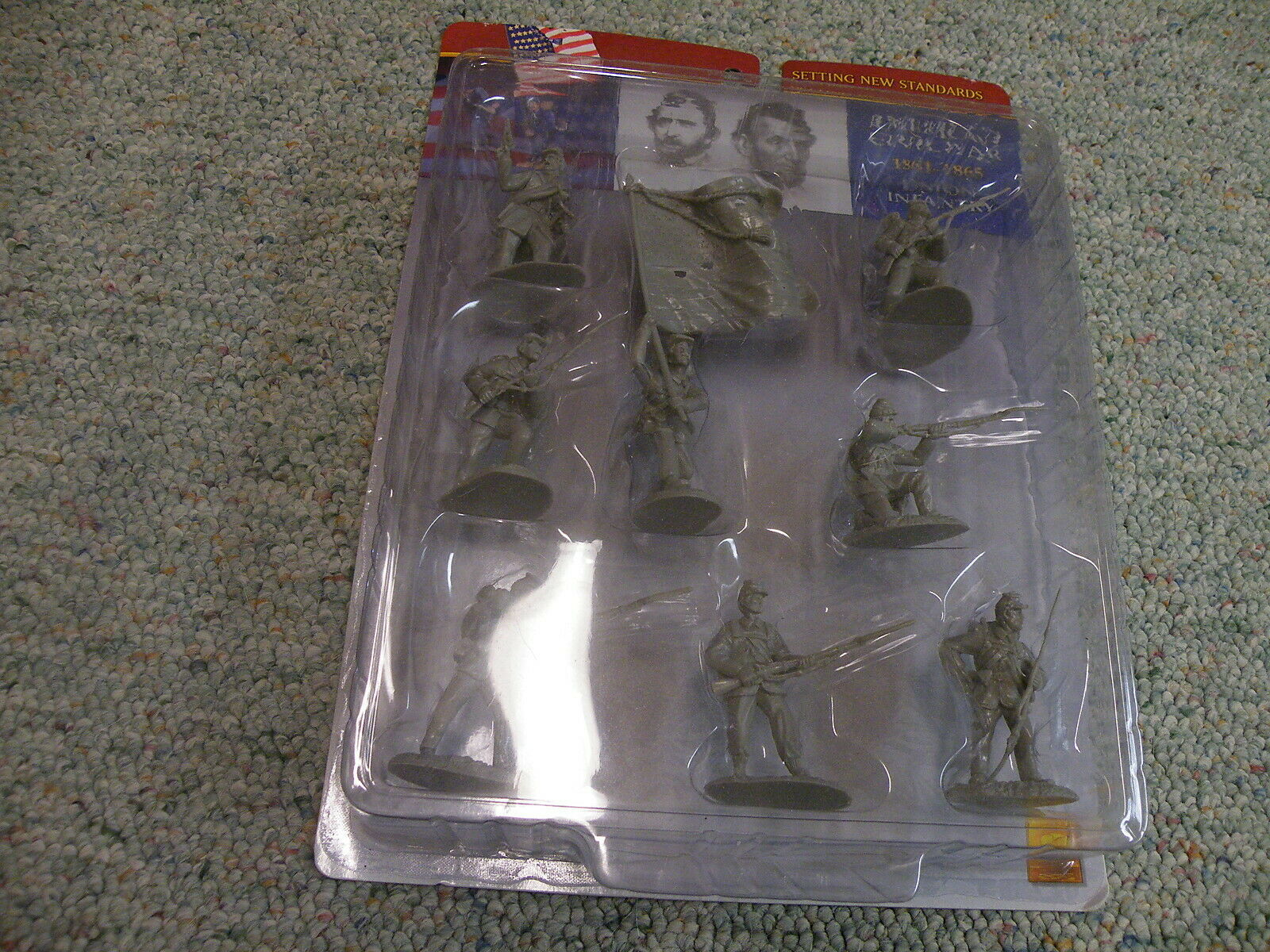 Conte 1 32 54mmAmerican Civil war 1861-65 Union Infantry in grey