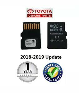2014 2015 2016 2017 2018 2019 Toyota Latest Navigation Micro SD Card 86271-0E072