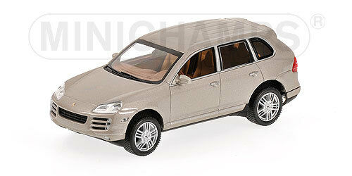 MINICHAMPS 400066200 Scale 1:43,Porsche Cayenne S - 2006 - Beige # New IN Boxed#