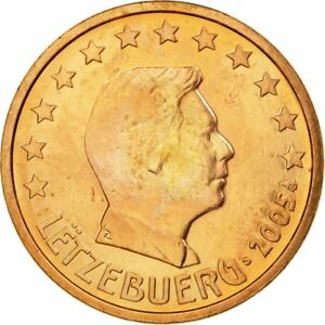 [#539103] Luxembourg, 5 Euro Cent, 2005, TTB, Copper Plated Steel, KM:77