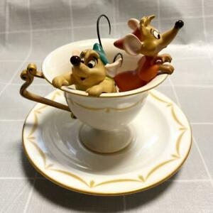 WDCC Walt Disney Classics Collection Cinderella Gus&Jaq Tea For Two Limited 1999