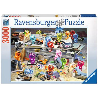 3000 Teile Ravensburger Puzzle Gelini auf Reisen 17064