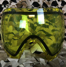 NEW Dye Invision I4 & I5 Thermal Anti-Fog Paintball Goggle Mask Lens - Yellow
