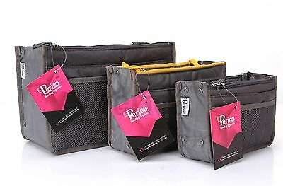 Periea Handbag Organiser ,Organizer Large, Insert, Travel Bag, Tidy 17 Colours