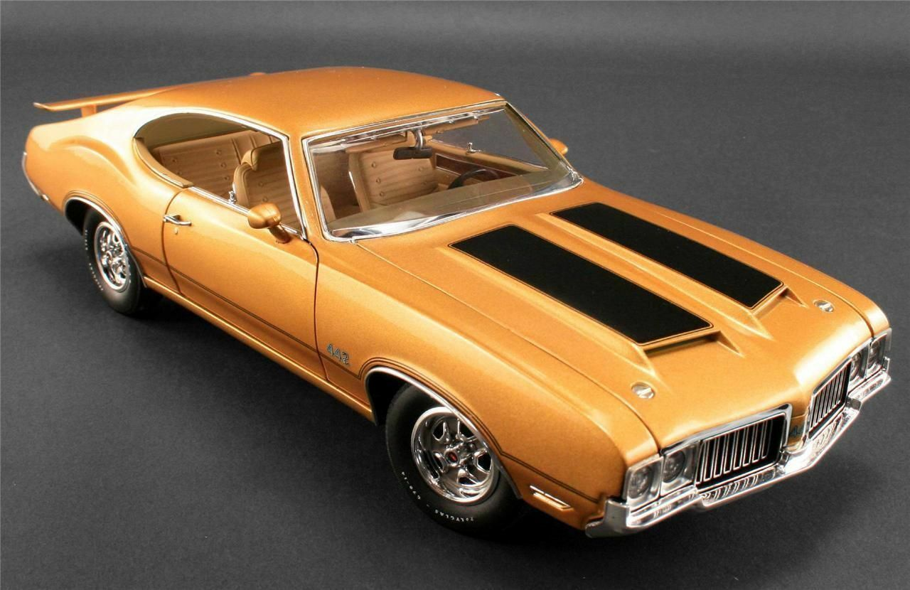 1 18 Gmp   Acme 1970 Oldsmobile 442 Holiday Coupe Dr.Olds Limited Edition 1 996
