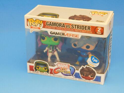 FYE Exclusive Marvel Gamerverse Gamora vs Strider 2 Pack Funko Pop