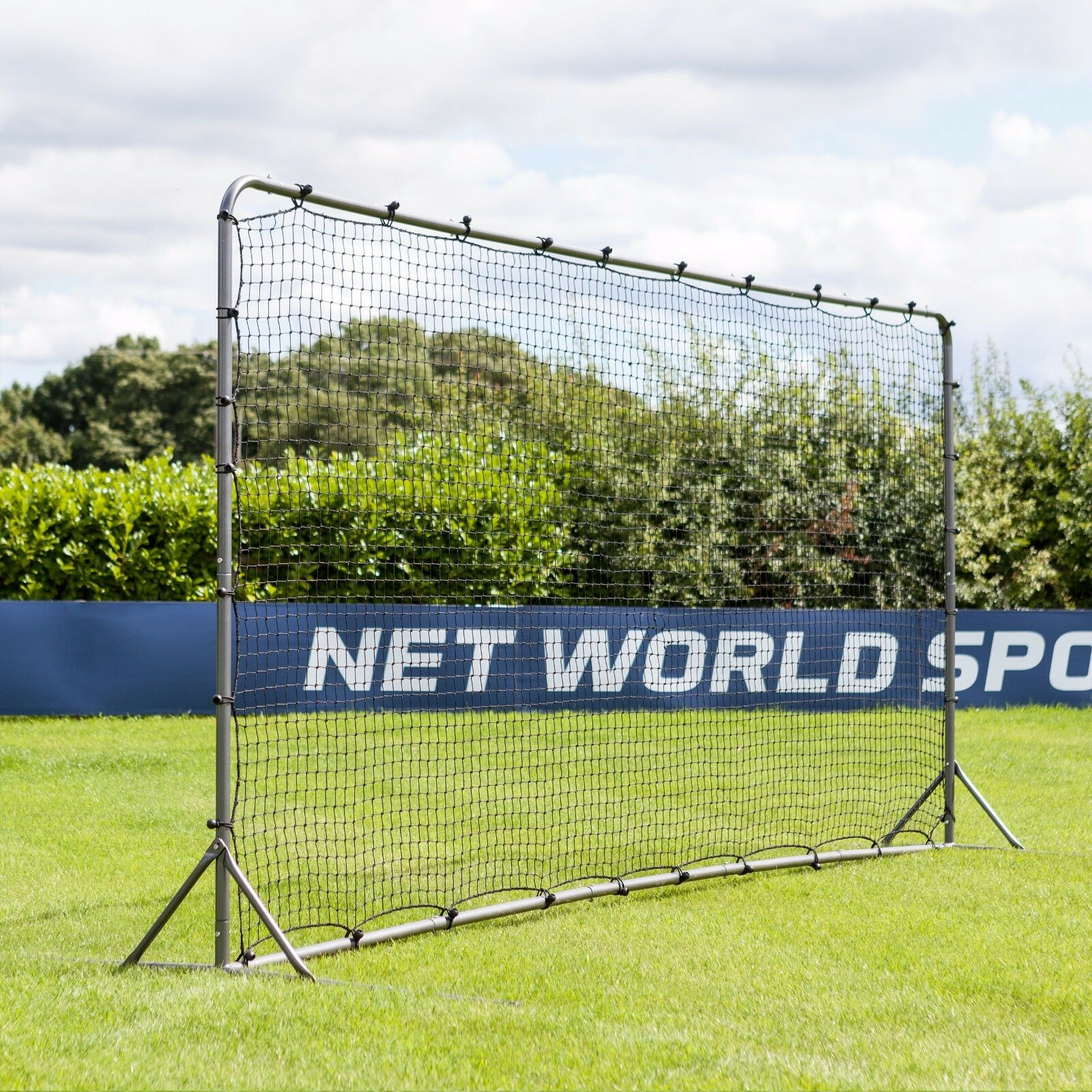 Forza fútbol parojo de rebote (12 ft (approx. 3.66 m) X 6 ft (approx. 1.83 m) 16 ft (approx. 4.88 m) X 7 ft (approx. 2.13 m)) [Net World Sports]