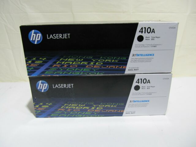 NEW HP CF410A 410A GENUINE Toner Cartridge Original Sealed Retail Package OEM