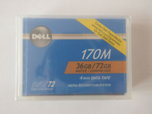 Dell-DAT72-DAT-72-Data-Tape-cartouche-36-72GB-0W3552-4-mm-NEUF