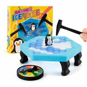 Table Game Children Penguin Trap Break Block Toy Set Parent Child Interaction