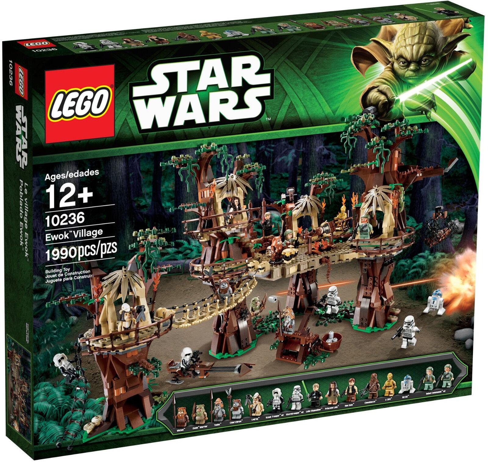 LEGO STAR WARS UCS 10236 Ewok Village NEWNEUF Leia  Rebel Endor return of JEDI