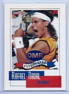 034-RARE-034-RAFAEL-NADAL-2003-034-1ST-EVER-PRINTED-034-034-LIMITED-EDITON-OF-250-034-ROOKIE-CARD