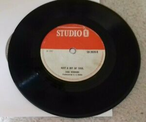"alton ellis i am just a guy / just a bit of soul 7"" vinyl record single vg"